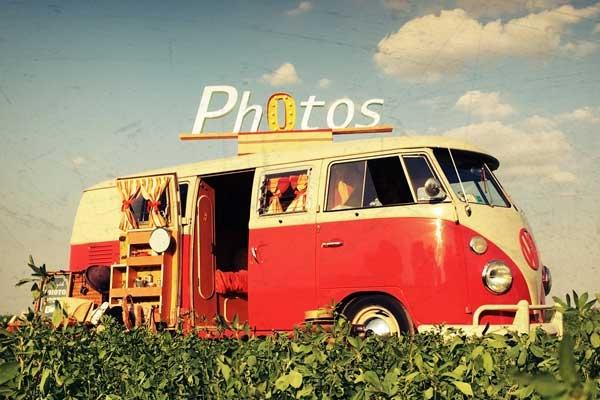 Vintage Photo Bus